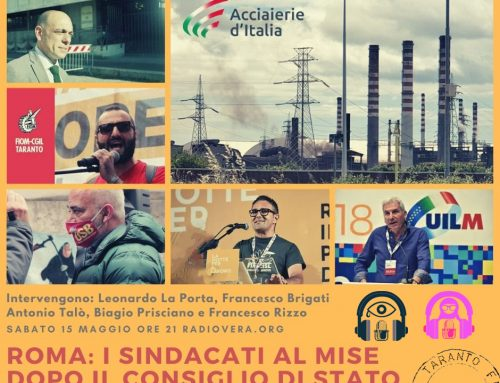 Roma: Sindacati al MiSE dopo il Consiglio di Stato. 15.03.21